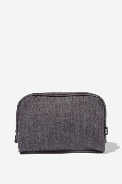 Transit Cos Bag, CHARCOAL CROSSHATCH