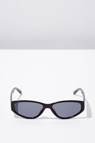 Charlotte Sunglasses, BLACK/SMK