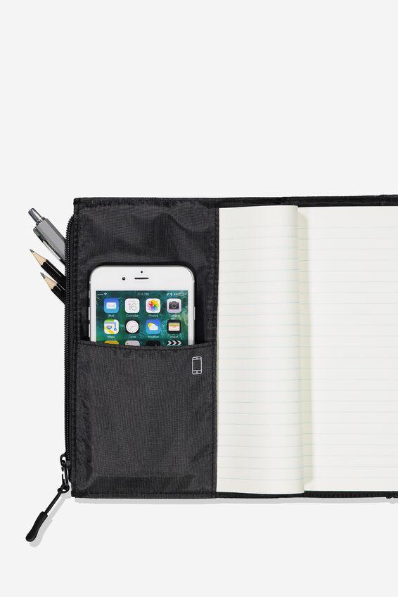 Transit Notebook, BLACK
