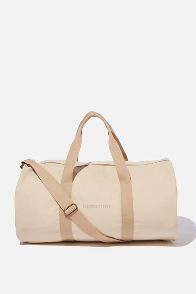 Brunswick Barrel Duffle, STONE CANVAS