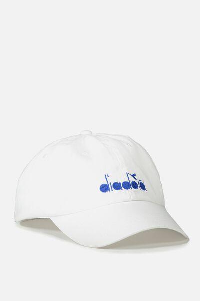 Diadora Cap, WHITE/DIADORA