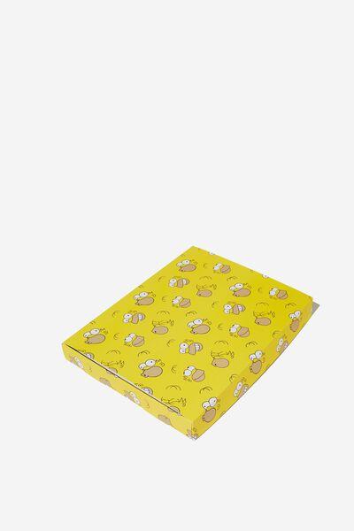 Large Gift Box, LC YELLOW/HOMER
