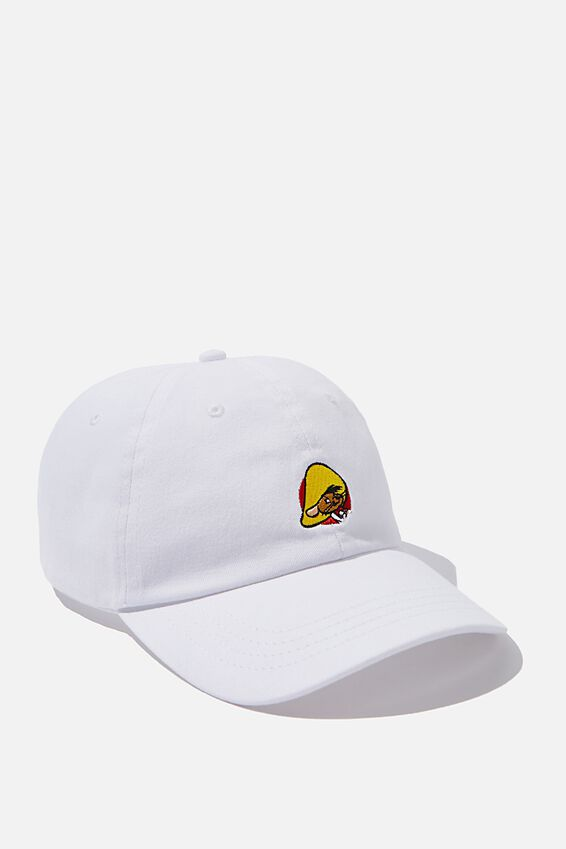 Special Edition Dad Hat, LCN WB WHITE/SPEEDY GONZALES