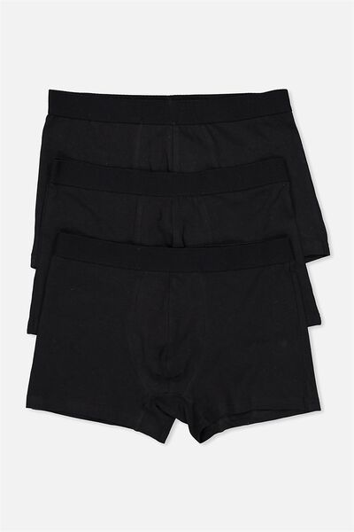 3 Pack Trunks, BLACK