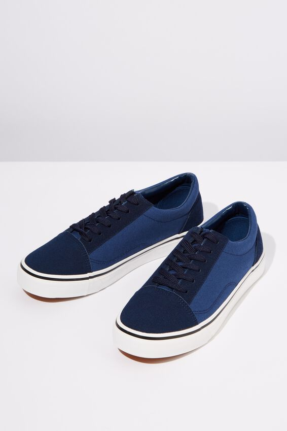 Axell Skate Shoe, NAVY/BLUE