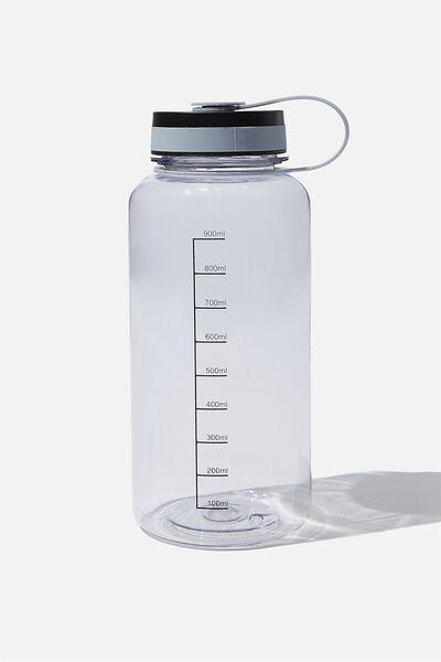 1 Litre Drink Bottle, GREY