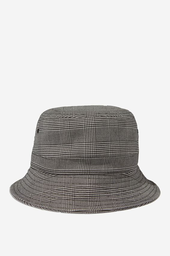 Bucket Hat, GREY CHECK