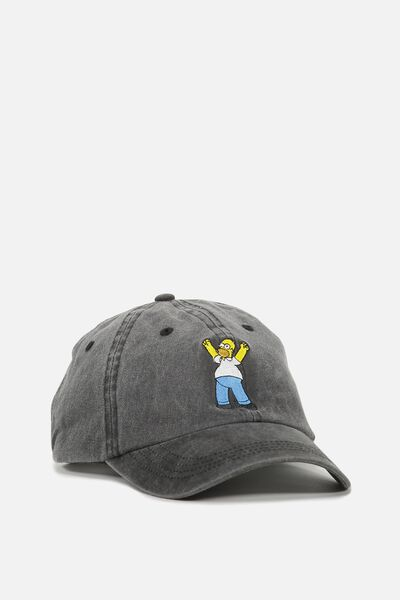 Special Edition Dad Hat, BLACK/SIMPSONS HOMER