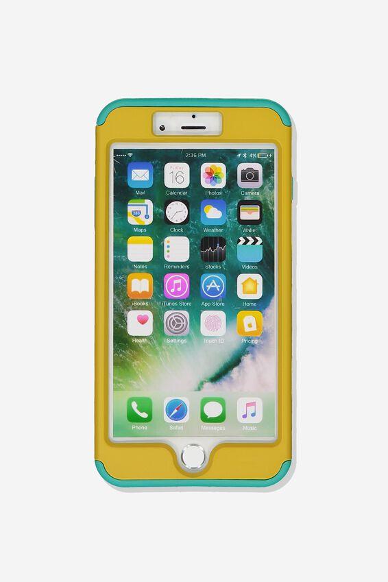 Shockproof Tradie Phone Case Iphone 7/8 Plus, MUSTARD