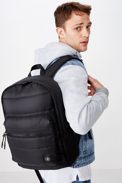 Downtown Backpack, BLACK