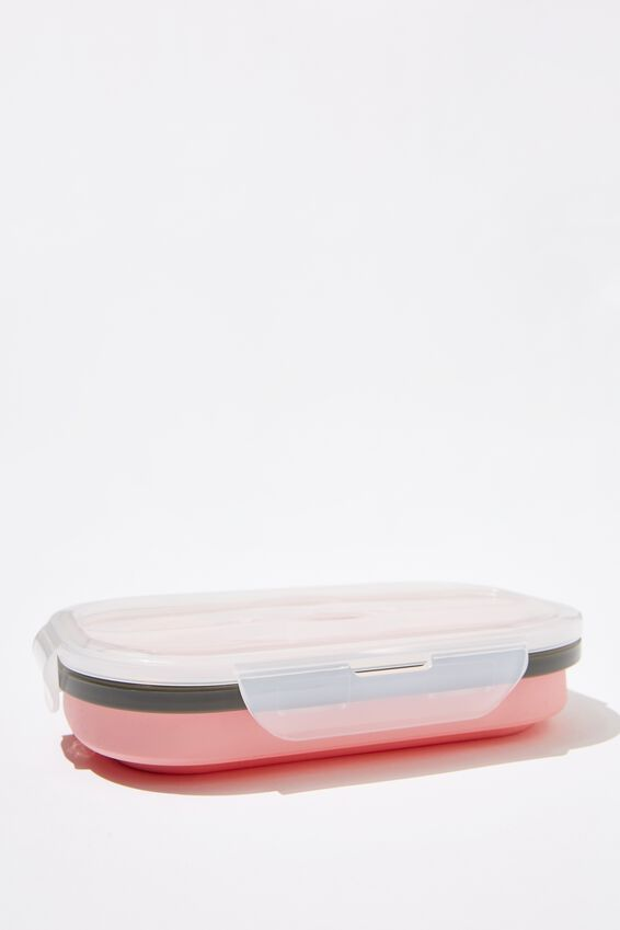 Collapsible Lunch Box, DUSTY BLUSH