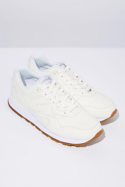 Diadora Casual Sneaker, WHITE