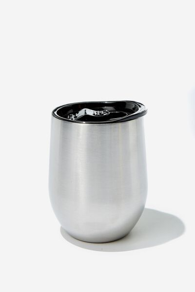 Medium Metal Tumbler, ALUMINIUM