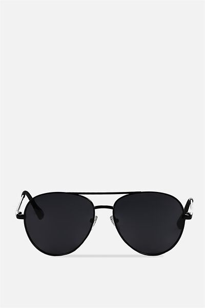 Simpson Sunnies, MATTE BLACK/SMOKE