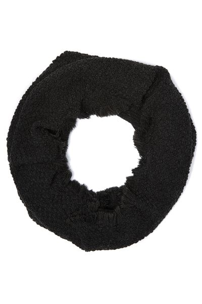 Indiana Knitted Snood, BLACK