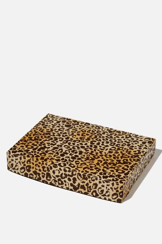 Small Gift Box, LEOPARD