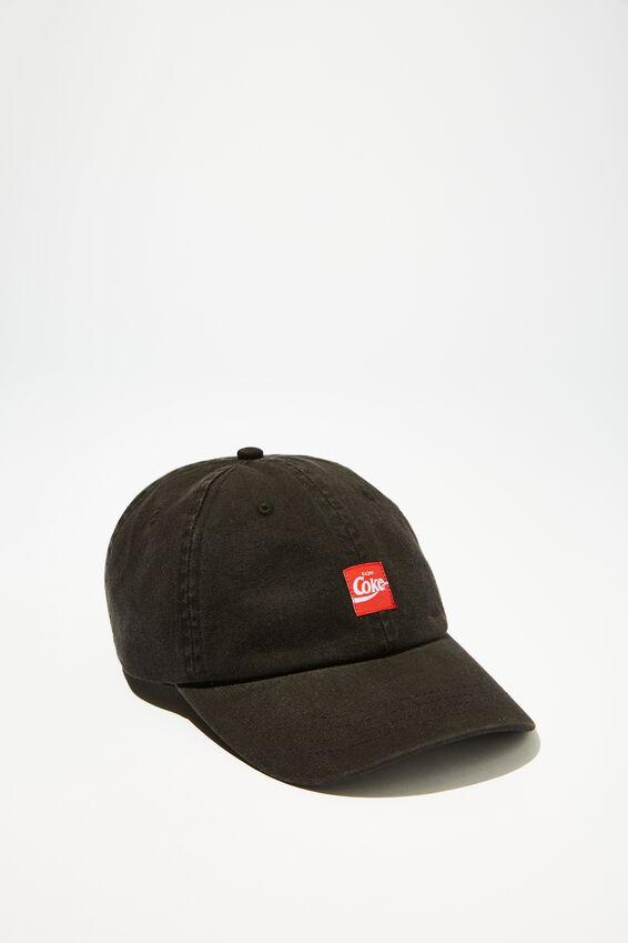 Special Edition Dad Hat, LCN COK BLACK/ENJOY COKE
