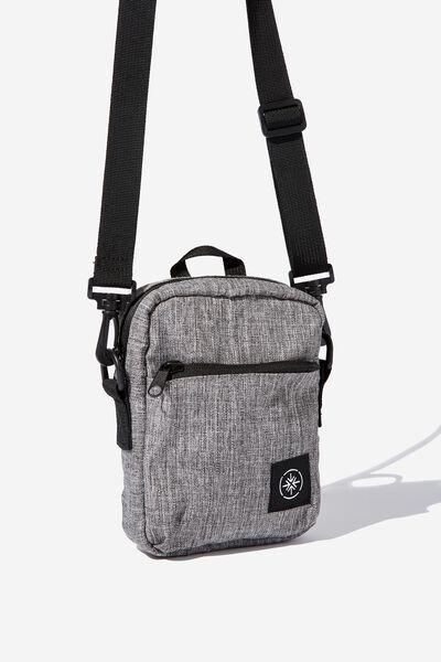 Transit Sling Bag, GREY CROSSHATCH
