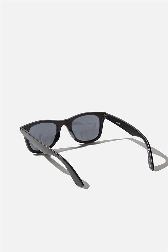 Kennedy Sunglasses, MATTE BLACK