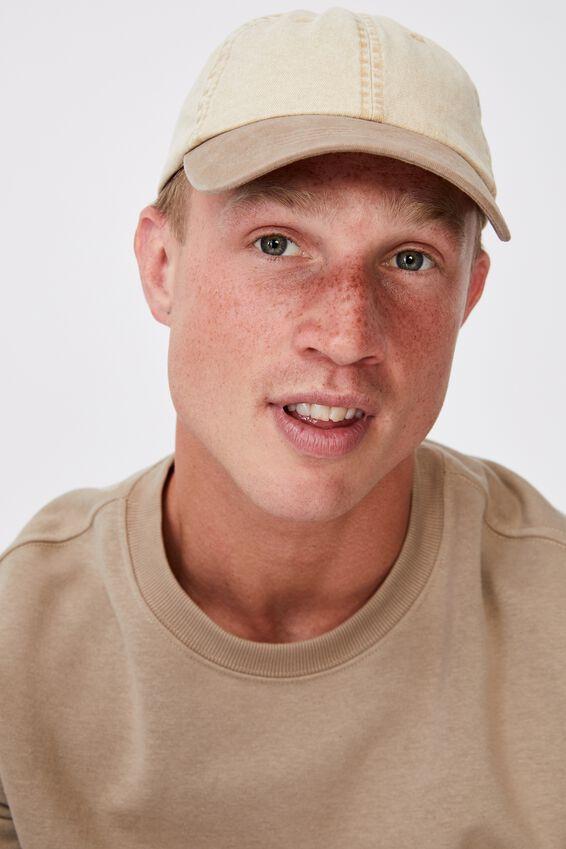 Blank Dad Hat, TT WASHED SAND
