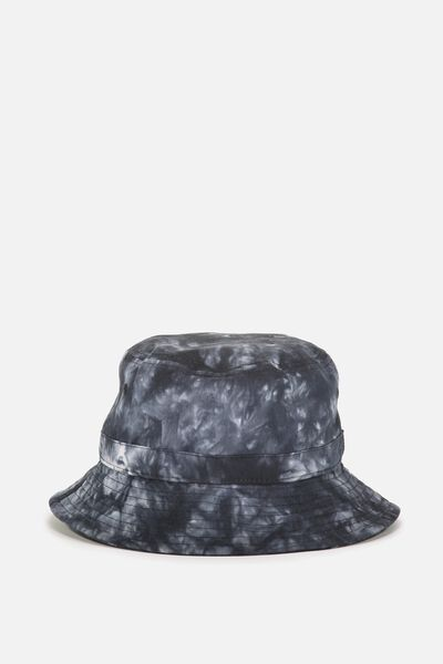 Bucket Hat, BLACK TIE DYE