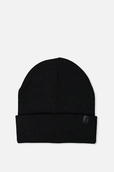 Compton High Beanie, BLACK
