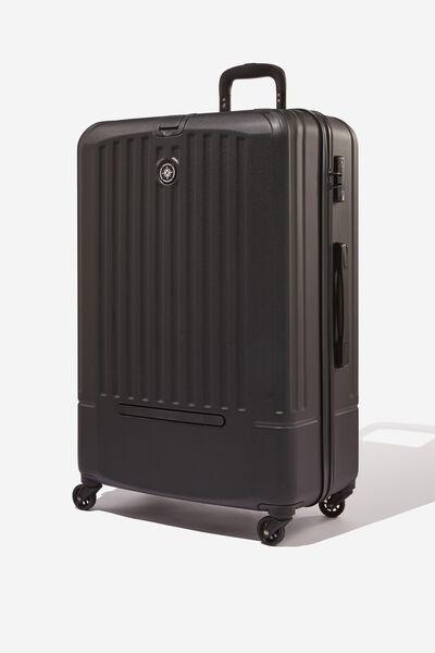 Lrg 28Inch Hard Suitcase, BLACK
