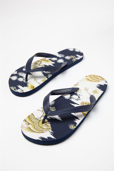 Bondi Flip Flop, SEA BLUE/OFF WHITE JAPANESE