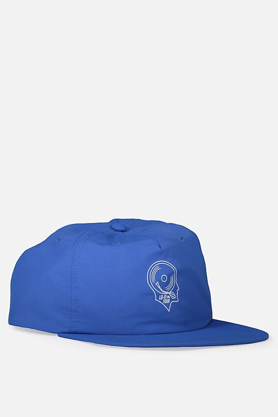 Art Snapback, ELECTRIC BLUE/LO FI TOUR