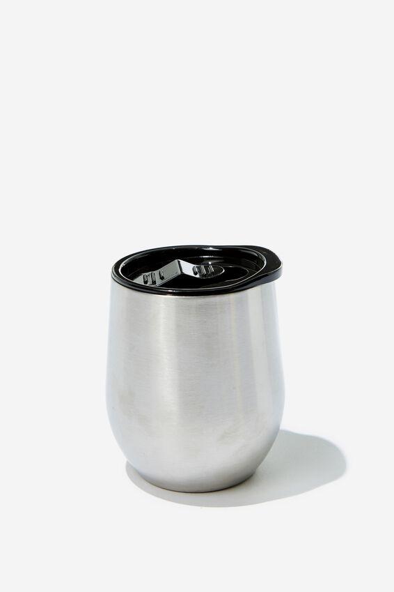 Small Metal Tumbler, ALUMINIUM