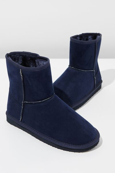 Lounge Boot, INK NAVY
