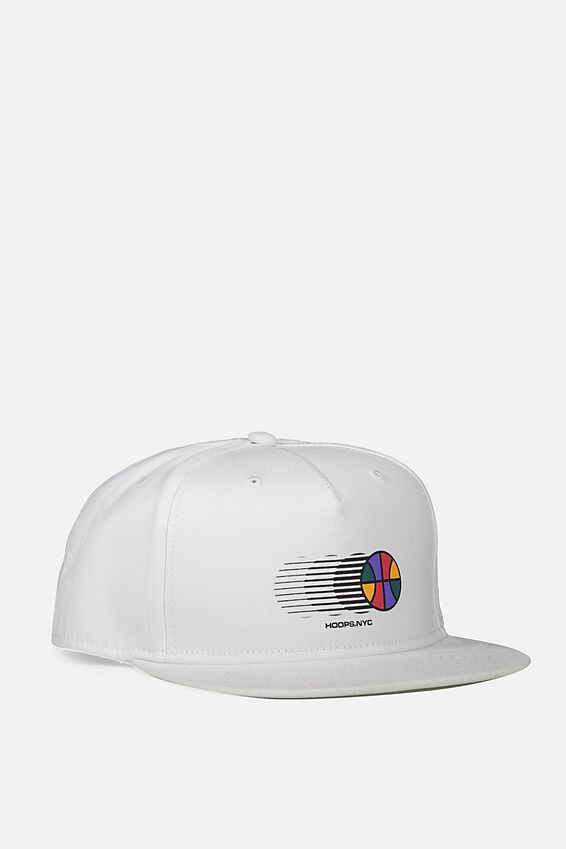 Art Snapback, WHITE/HOOPS BALLER