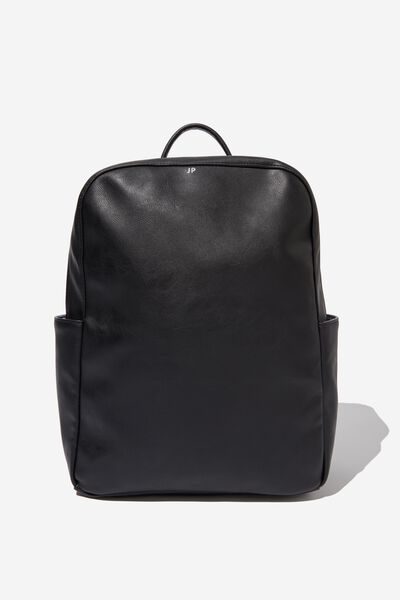 Personalised Berlin Tech Backpack, BLACK