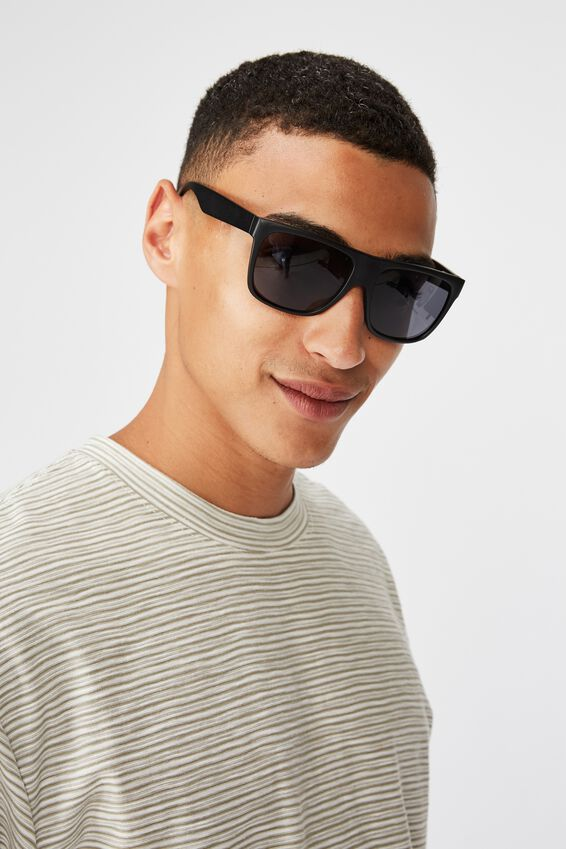 Jeremy Sunglasses, MATTE BLACK/SMOKE