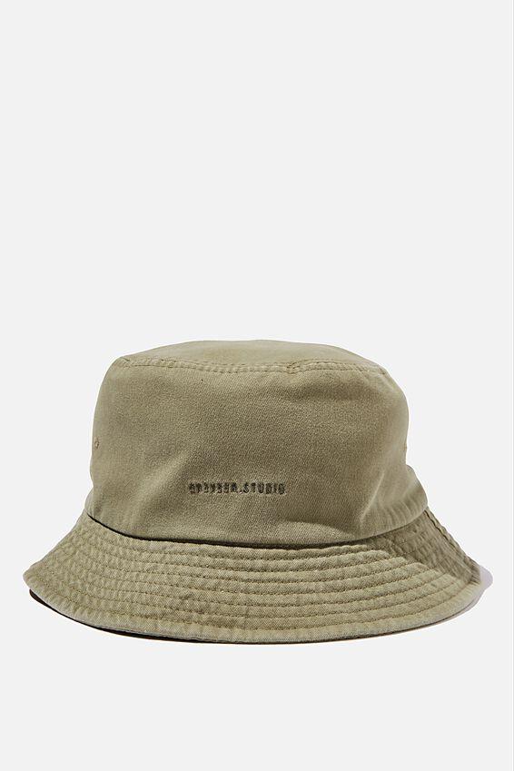 Bucket Hat, KHAKI/WEEKEND STUDIO