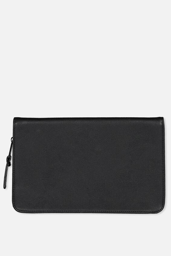 Travel Wallet, BLACK