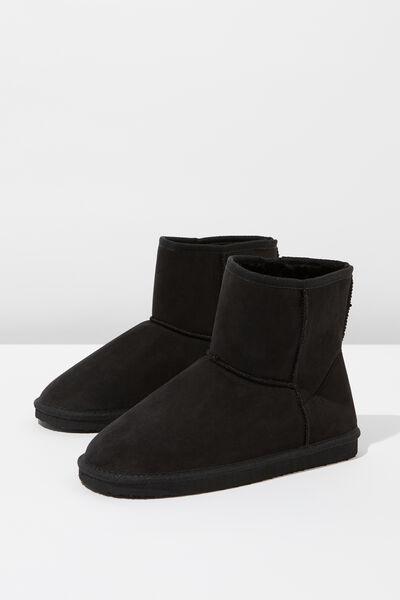 Lounge Boot, BLACK