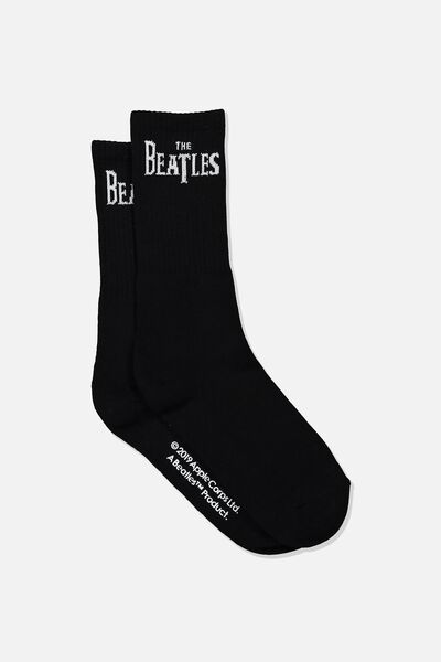 Single Pack Active Socks, LCN APP BLACK/THE BEATLES