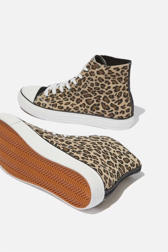 Tyler Hi-Top, LEOPARD/BLACK/WHITE
