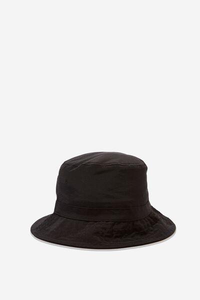 Bucket Hat, BLACK/RIPSTOP