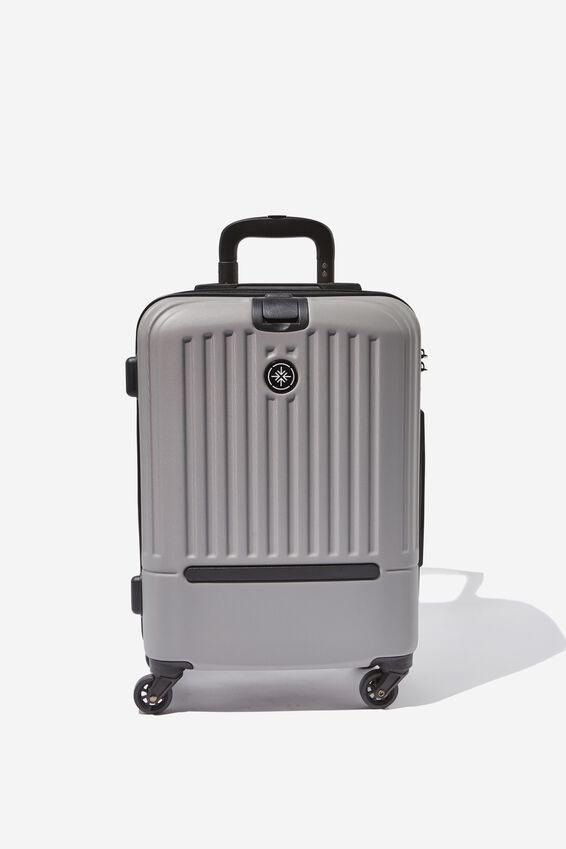 Sml 19Inch Hard Suitcase, GREY