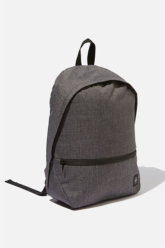Transit Backpack, CHARCOAL CROSSHATCH