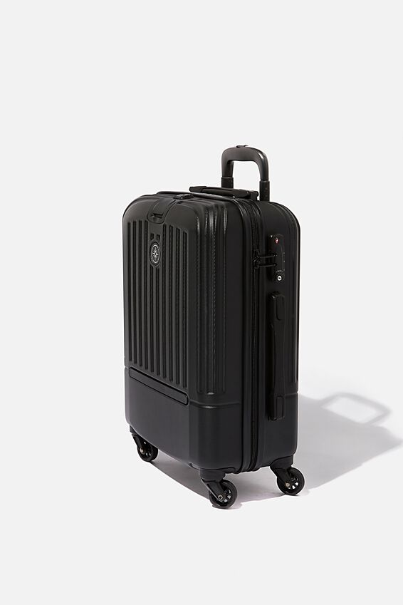 Sml 19Inch Hard Suitcase, BLACK