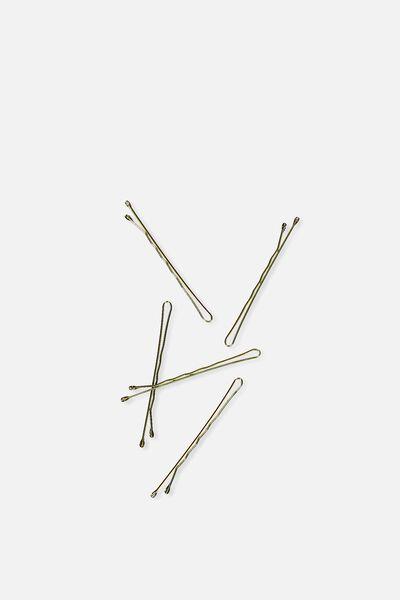 Hair Pins 24Pk, BLONDE