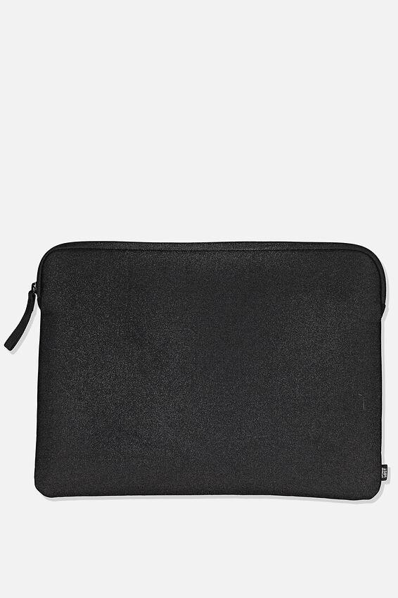 13 Inch Laptop Sleeve, BLACK