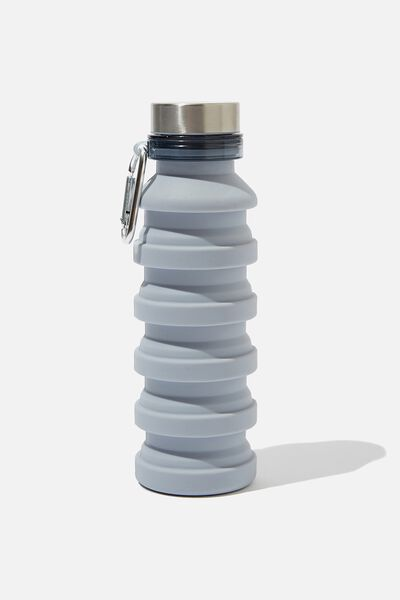 Collapsible Drink Bottle, GREY