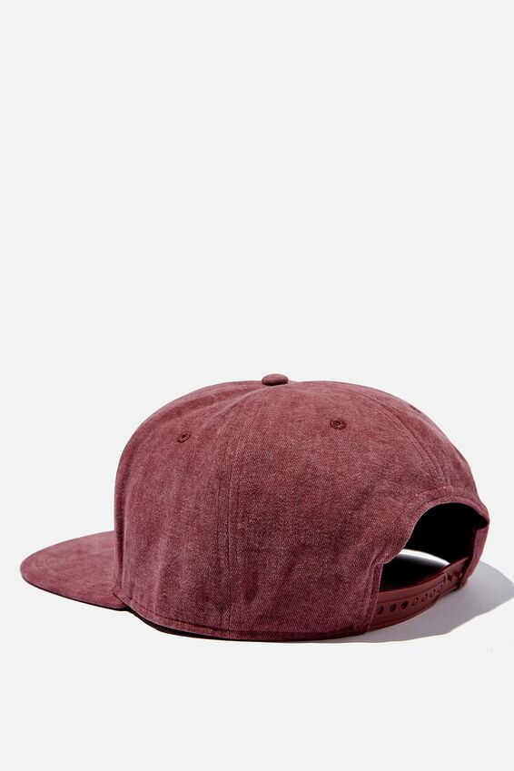 Snapback, WASHED BURGUNDY/LA-NY