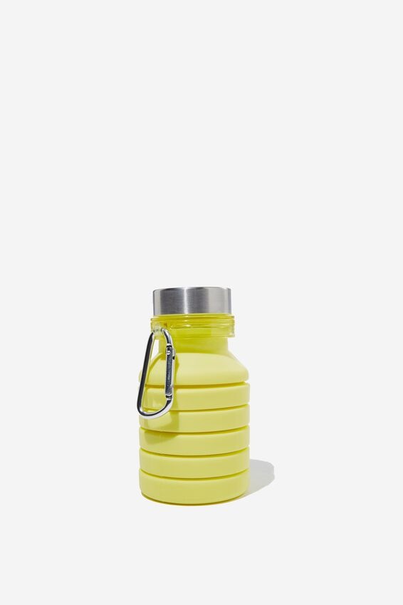 Collapsible Drink Bottle, BRIGHT LIME