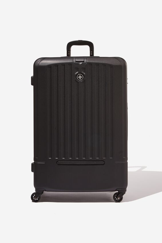 Med 24Inch Hard Suitcase, BLACK