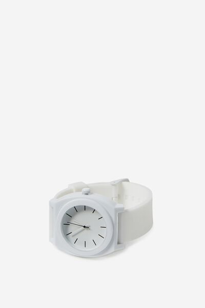 Key West Watch, MATTE WHITE